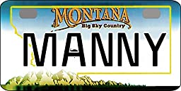 Personalized Montana 2006 Bicycle Replica License Plate any name