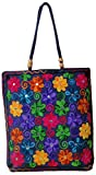 Craftshraft Women's Shoulder Bag (craft-55, Blue)