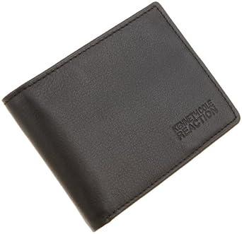 Kenneth Cole REACTION Men's Front Pocket Billfold,Black,One Size
