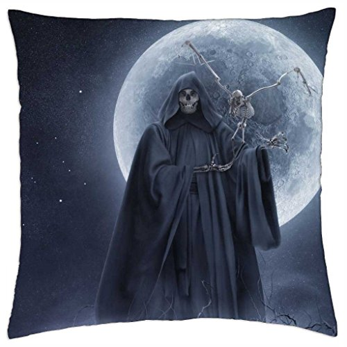 """he glows like the dark moon - Throw Pillow Cover Case (18"""" x 18"""")"""