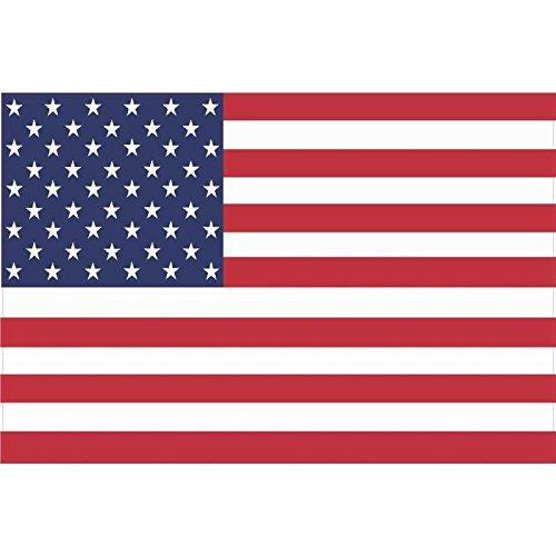 "6"" x 4"" United States US American Flag Bumper Sticker Decal Car Window Stickers Decals"