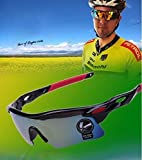 #1: Drhob 1 PC riding mountain bike goggles glasses Bicycling equipment goggles mountain running all kinds of outdoor sports shading goggles