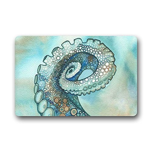 Homie-Design-Fashion-Deep-Sea-Animal-Octopus-Painting-Washable-Doormat-Home-Decorator-Length-Width-Non-Slip-Rubber-Kitchen-Rugs-236-X-157-Inch-IndoorOutdoors