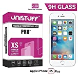 Unistuff™ 2.5D Curve Edge Kristal Clear PRO+ Tempered Glass For Apple IPhone 6S Plus