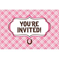 Heart My Horse Invitation Gatefold (8) Invites Birthday Party from Creative Converting