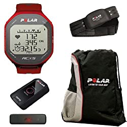 Polar 90042072 RCX5 G5 - MULTI in Red With Cinch Bag by Polar