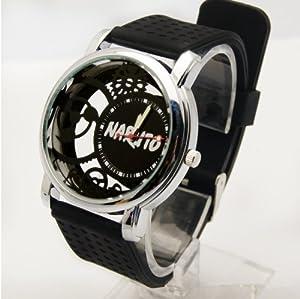 Black Butler Ciel Phantomhive Sports Watch Pierced Transparent Wrist Watch