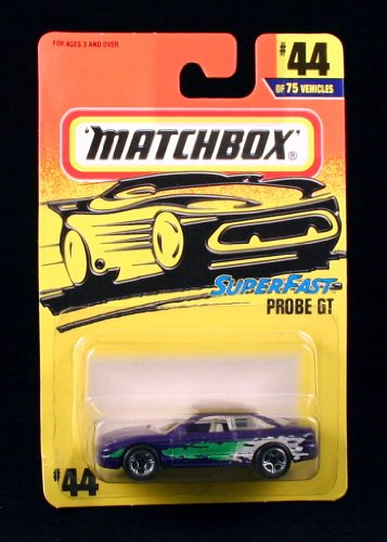 PROBE GT Superfast Series MATCHBOX 1997 Basic Die-Cast Vehicle (#44 of 75) - 1