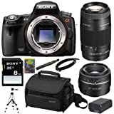 Sony Alpha A55 DSLR A55 SLT-A55V 16.2MP DSLR with