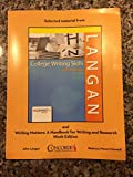 img - for College Writing Skills with Readings Ninth Edition Concorde Colleges Custom Edition book / textbook / text book