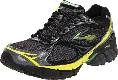 Brooks Men's Ghost Gtx M Black/Green/Yellow Trainer 1101031D717 9.5 UK, 10.5 US