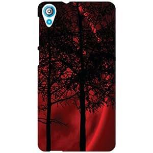 HTC Desire 820 Back Cover - Huge Trees Designer Cases