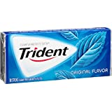 Trident Gum, Original Flavor, 18-Count (Pack of 12)