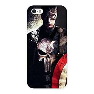 Luxirious Punish Sheild Multicolor Back Case Cover for iPhone 5 5S