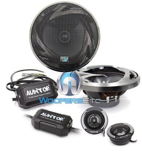 Auditor Rip 165S 6.5-Inch 2-Way Component Speaker Kit