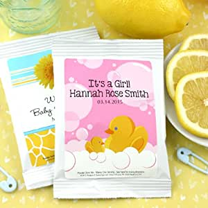 personalized baby shower lemonade favors baby products