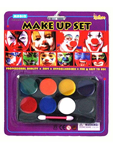 [Spring fever Halloween Party Cosplay Face and Body Painting Kit Makeup Multicolor] (Homemade Fairy Tale Character Costumes)