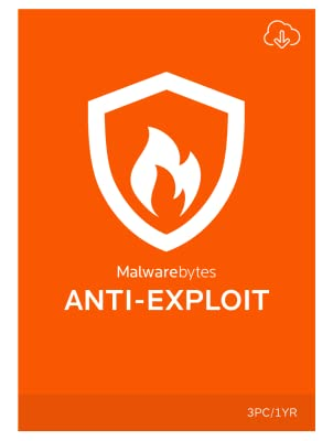 Malwarebytes Anti-Exploit Premium 1 Year for 3 PCs [Download]