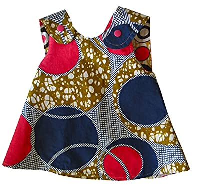 Baby and Toddler Pinafore - All Cotton Certified Fair Trade