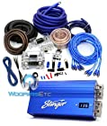 SHC5115-97K PACKAGE - Stinger 15 Farad Capacitor PLUS 97K 0 Gauge Amp Kit