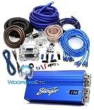 SHC5115-97K PACKAGE - Stinger 15 Farad Capacitor PLUS 97K 0 Gauge Amp Kit