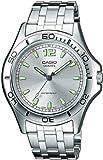 CASIO MTP1258D7AEF – Reloj de caballero de cuarzo, correa de acero inoxidable color varios colores