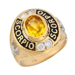 Scorpio Compact | Belle epoch, Gemstone rings, Gemstones |Scorpio Gemstone Rings