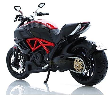 Ducati Diavel-31196 moto en alliage modele de jouets Vehicule Miniature Echelle 1/12