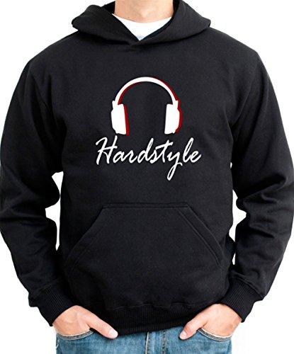 Hardstyle Headphones Men Hoodie