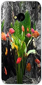 Snoogg Exotic Fish Set As A Bunch Of Tulips Designer Protective Back Case Cov...