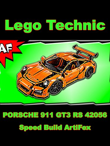 watch 39 clip lego technic porsche 911 gt3 rs 39 on amazon. Black Bedroom Furniture Sets. Home Design Ideas