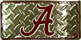 Alabama Crimson Tide Diamond License Plate