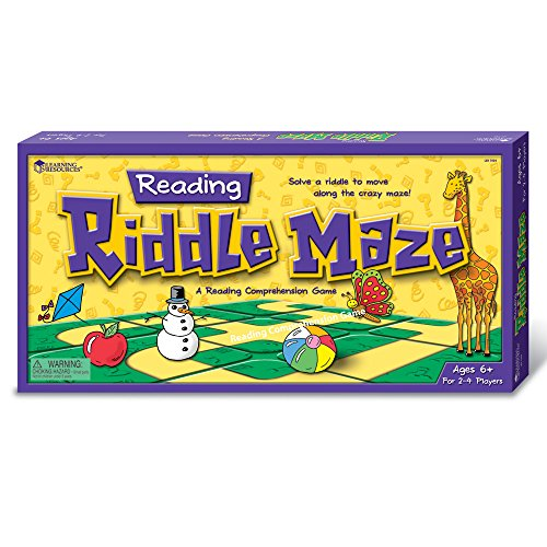 Imagen principal de Learning Resources Reading Riddle Maze - Juego educativo