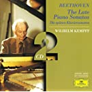 Beethoven: The Late Piano Sonatas (2 CD's)