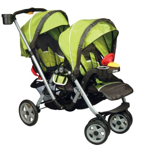 New Jeep Traveler Tandem Stroller, Spark