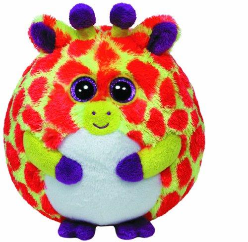 Ty Beanie Ballz Toby Orange Giraffe Regular Plush