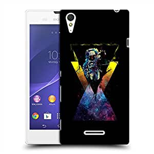 Snoogg Flying Astronaut Designer Protective Back Case Cover For SONY XPERIA T3