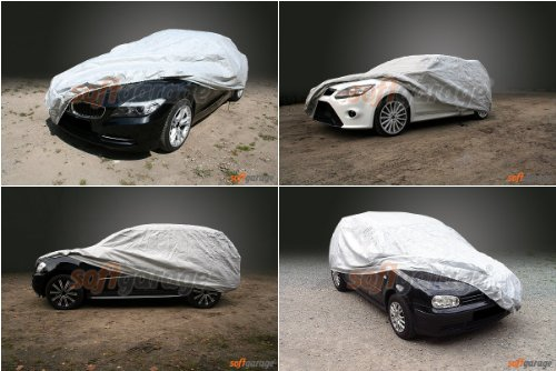 softgarage lichtgrau MERCEDES-BENZ 123 (W123) lang Faltgarage Carcover