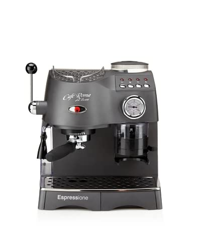 Espressione Café Roma Deluxe Espresso Machine with Built-in Grinder