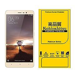 Kohinshitsu Tempered Glass Screen Protector for Redmi Note 3 / Mi Note 3 / Xiaomi Note 3 / Xiaomi Redmi Note 3