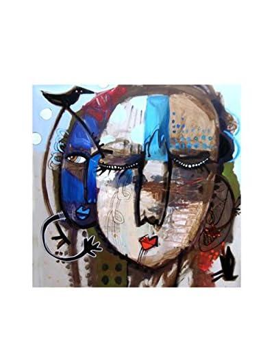 Frederic Pissarro Gallery Wrapped Print Shhh Listen, Multi