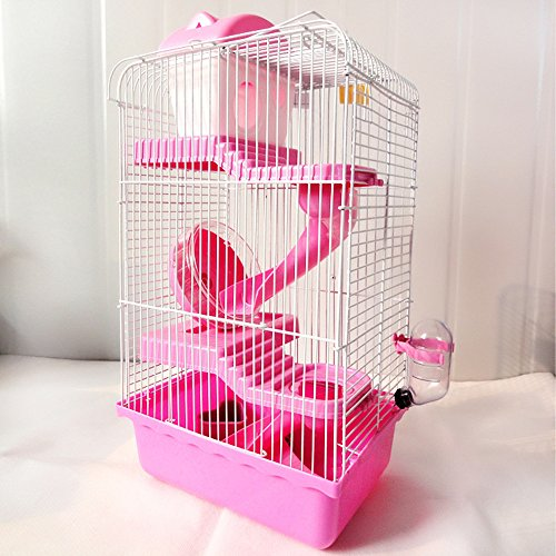 Blytieor-Critter-Hamster-Trail-3-Level-Habitat-Hamster-Cage-with-Sleeping-Platform