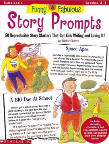 Funny & Fabulous Story Prompts (Grades 2-4)