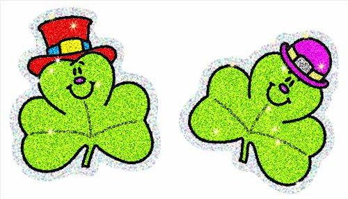Carson Dellosa Shamrocks Dazzle Stickers (2922)