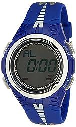 Sonata Super Fibre Digital Grey Dial Mens Watch - NF7965PP01J