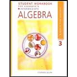Student Workbook for Kaseberg's Intermediate Algebra, 3rd (0618914935) by Kaseberg, Alice