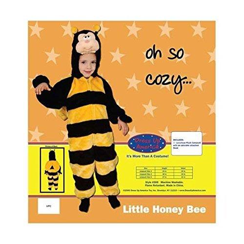 [Little Honey Bee Infant Cape Costume Size 12-24mo.] (Little Honey Bee Girls Costumes)