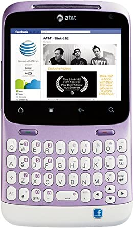 HTC Status Android Phone, Mauve/White (AT&T)