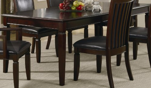 Dining Table With Extension Leaf In Warm Walnut Finish back-919010