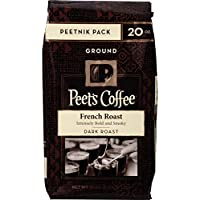 Peets Coffee Ground Coffee 20-oz. Bag (French Roast)